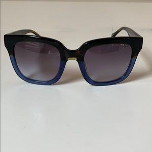 Banana Republic Penny sunglasses NEW Blue Brown